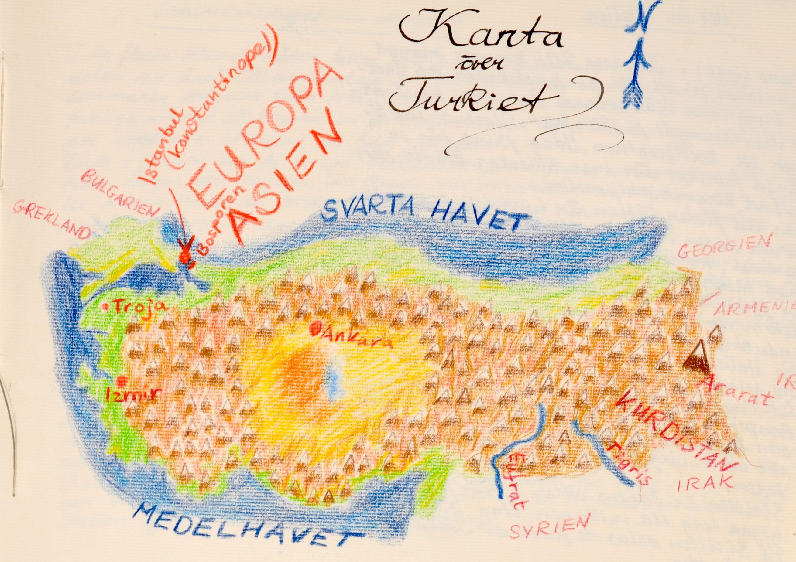 Geografiundervisningen I Arskurs 6 Europa Waldorf Online