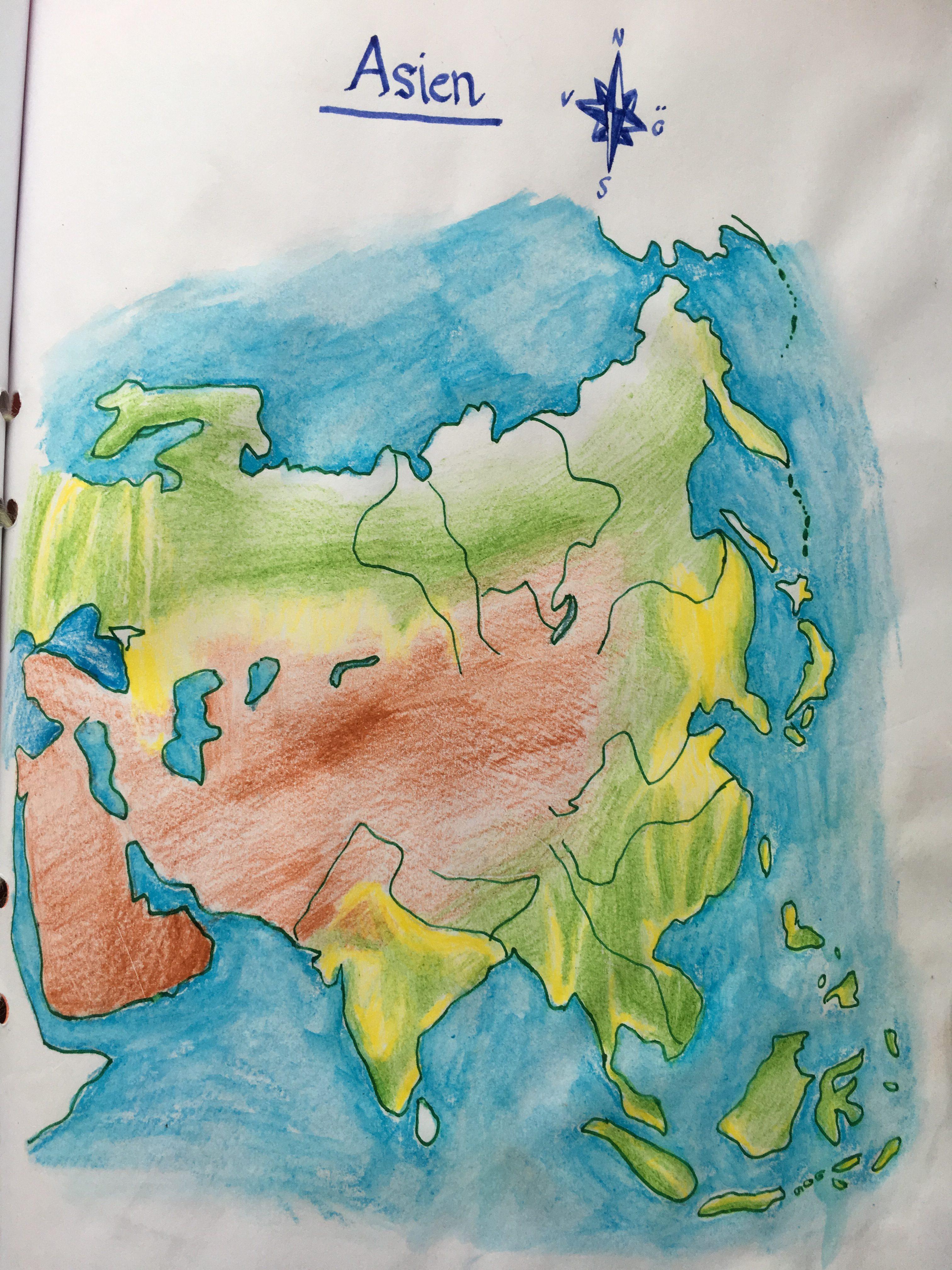 Period I Geografi Arskurs 7 Asien Waldorf Online